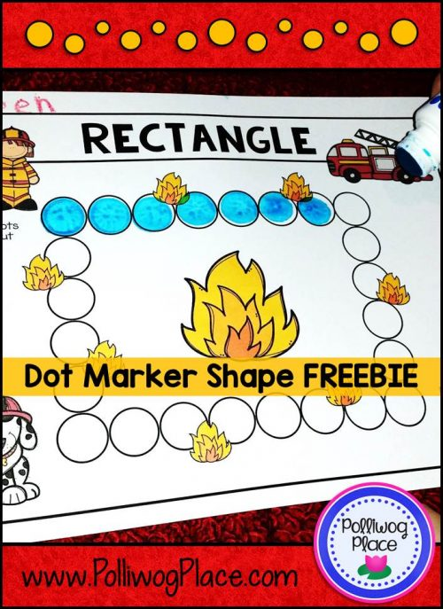Dot Marker Shape Freebie