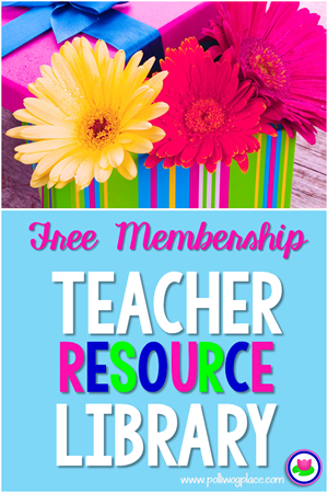 Free Teacher Resource Library