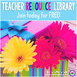 Polliwog Place Free Teacher Resource Library