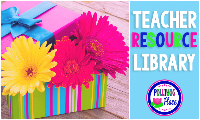 Teacher Resource Library - Join today for FREE!