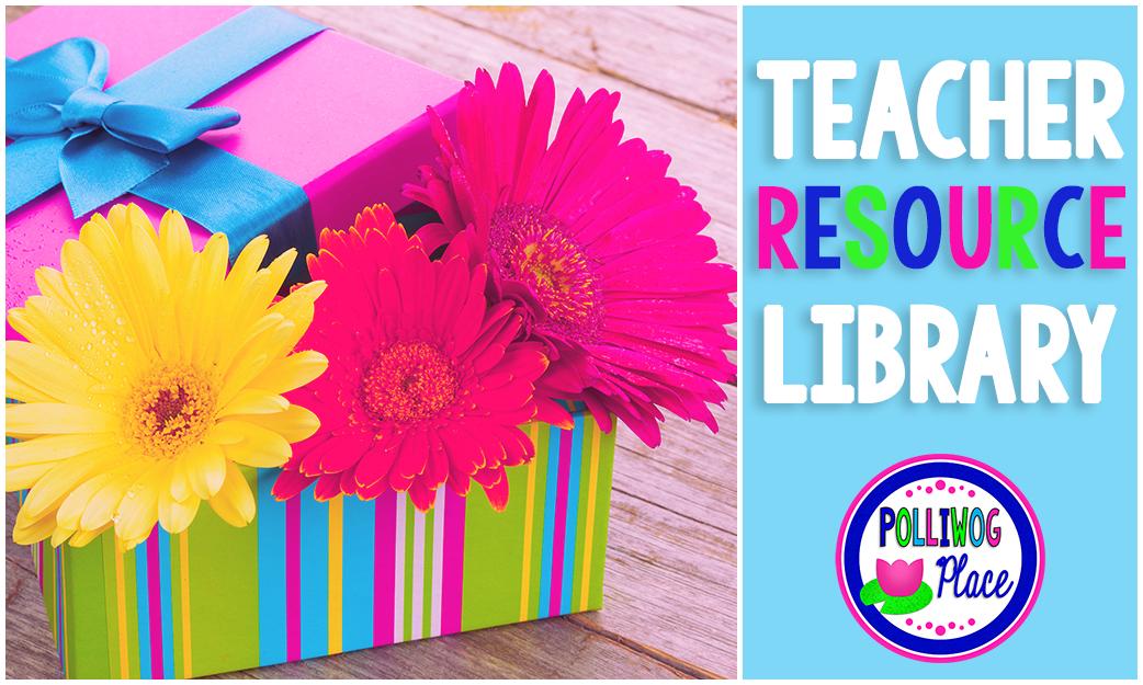 Polliwog Place Teacher Resource Library