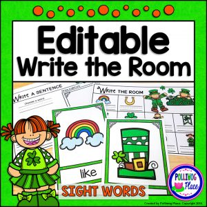 Write the Room St Patrick G01
