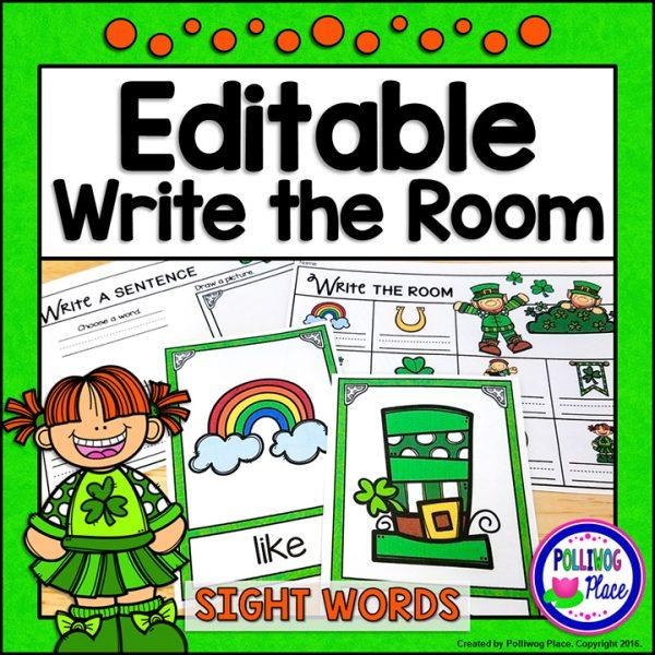 Write the Room St Patrick G01