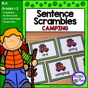 Sentence Scrambles Camping SMJ