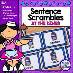 Sentence Scrambles Diner SMJ