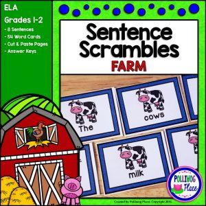 Sentence Scrambles Farm SMJ