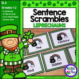 Sentence Scrambles Leprechauns SMJ