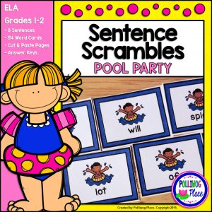Sentence Scrambles Pool Party SMJ