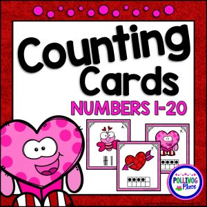 Valentine Counting Cards SMJ