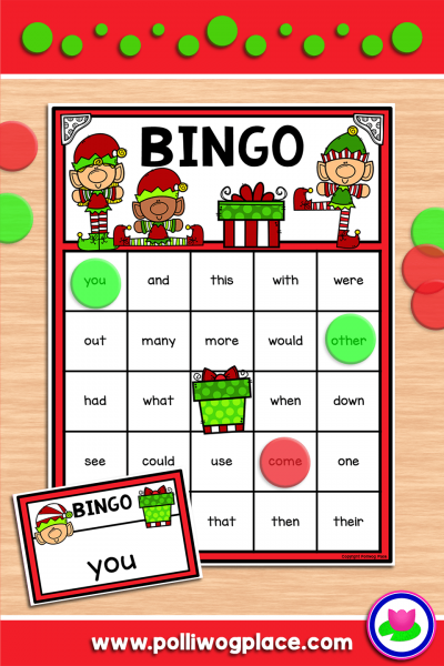 Bingo - Christmas Elves