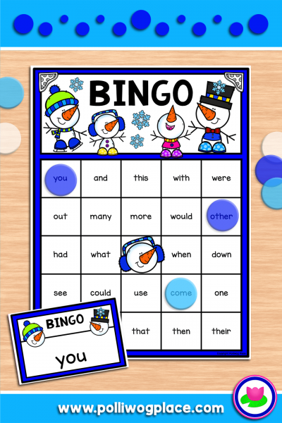 Bingo - Winter Snowmen
