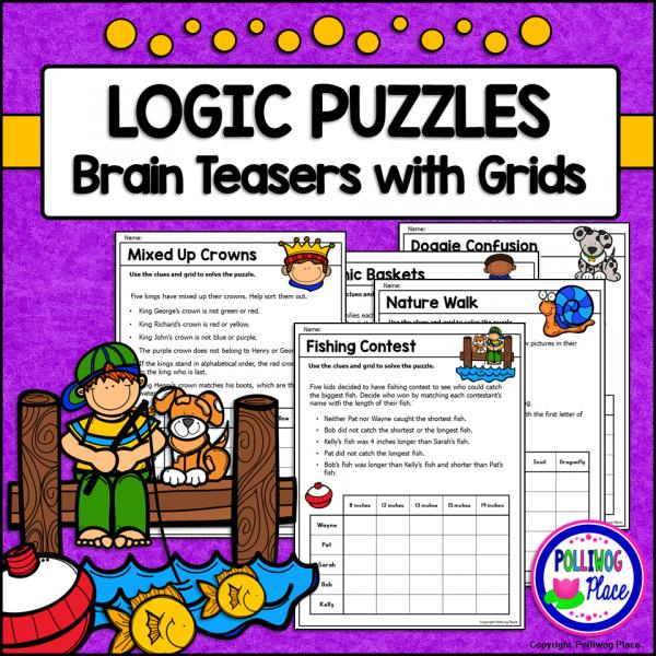 Logic Puzzles Set 2