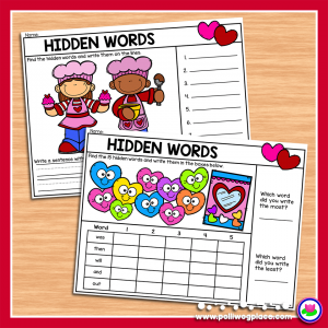 Valentine Hidden Words 01