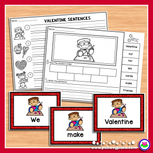 Valentine Sentence Scramble 01