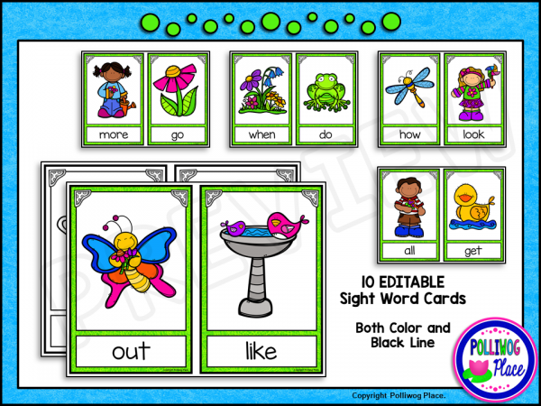 Spring Write the Room Sight Words PREVIEW 03