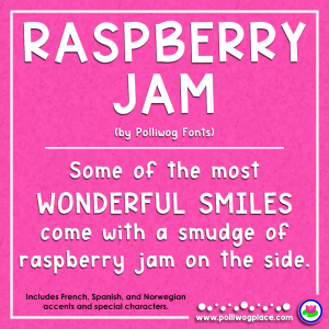 Raspberry-Jam-FONT