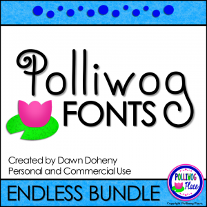 Polliwog Fonts Bundle