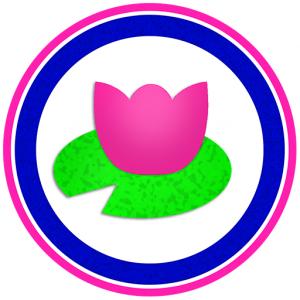 Polliwog Place logo lily pad