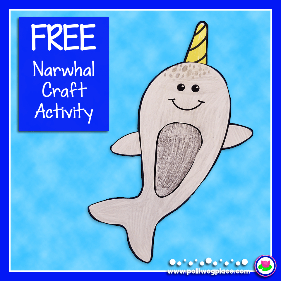Narwhal Craft Activity_Gray