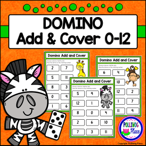 Domino Add and Cover math activity